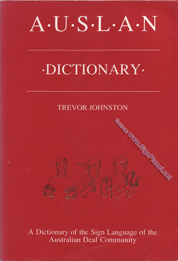 Auslan Dictionary First Edition